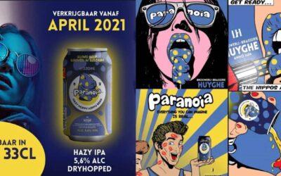 Paranoia zomers biertje van de Brouwers van Delirium